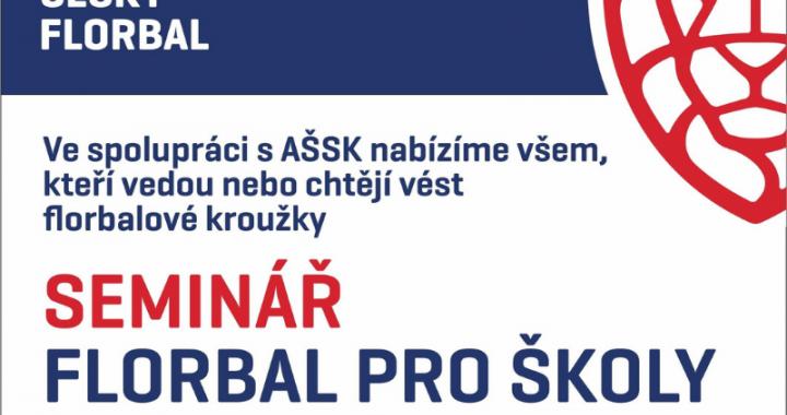 Foto: AŠSK připravila ve spolupráci s Českým florbalem školení pro učitele